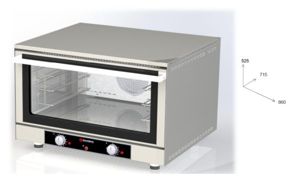 CUPTOR CONVECTIE LINIA G|SNACK 36 MECHANICAL - ELECTRIC