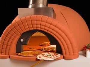 CUPTOR PIZZA REFRACTAR PE LEMNE Special Pizzeria