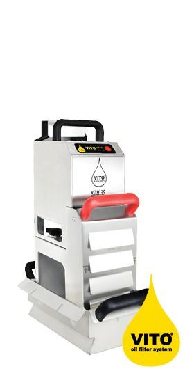 VITO® 30 Sistem de filtrarea ulei din fritteuza