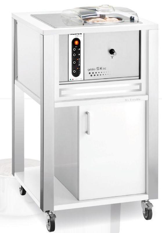 Masina de inghatata WHITE Gelato 5K T-Mobile - NEMOX